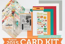 Cards: SSS August 2015 / by Cindi Lynch