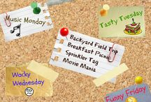 Mommy Camp Time! / Create a fun summer camp experience at home while sneaking in time for yourself!