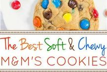 m&m cookis