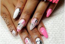 Nails / Designs, colours, gels, acrylics