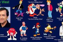 Voices behind the cartoon / From the Simpsons to the rugrats here are some talented and famous voices.