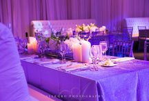 Perfectly Purple / Light up your wedding with some purple! // LED lights, wedding lighting, best wedding lighting, Boston wedding lighting, lighting design, amazing photography, Allegro Photography.