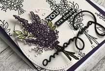 Stampin Up Lots of Lavender