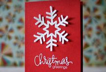 Cards - Christmas Snowflakes / christmas cards with snowflakes