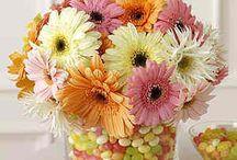 Wedding flower deco