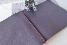 Leather, Sewing
