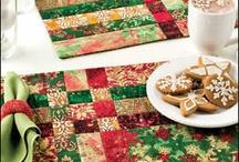 vánoční ubrusy a prostírky