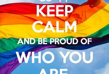 LGBT pride / Proud to be gay ☆*:.。. o(≧▽≦)o .。.:*☆ / by Tyla Scotchbrook 👾