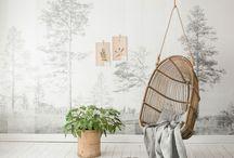 Paredes { Wall deco } / Decoración de las paredes. Cuadros, papel pintado, vinilos o pinturas diferentes. Buscamos la inspiración y el estilo. Interiores diferentes e inspiradores.