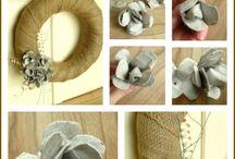Recycle- Egg carton crafts / by Debra NZ