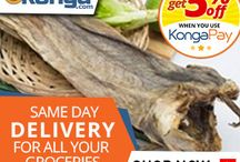 KONGA: SAME DAY DELIVERY FOR ALL YOUR GROCERIES