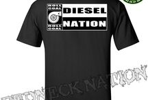Diesel Nation Shirts / We created the greatest line of clothing to celebrate the Diesel truck enthusiast life style.