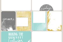Project Life free printables
