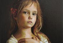 fine art - Children / by Debby Garrett