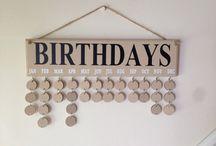 birthday organiser