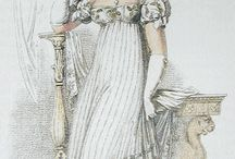Regency Stripe Dresses