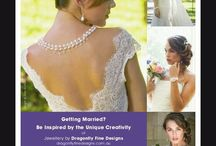 In the Press - Queensland Brides Magazine / Check out the lastest issue of Queensland Brides Magazine pg 49 as Dragonfly Fine Designs in conjunction with Ella Moda, Di Hair Designs & Bayly Allure have release our new special advert together.