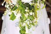 Green & White Weddings