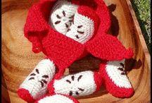 crochet fruit peeled