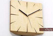 Wood clock ideas