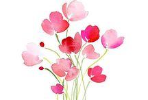flori watercolot