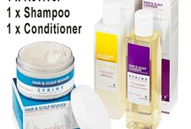 Hair and Scalp Treatments / Hair and Scalp Treatment Combination For people who suffer from irritable or severe scalp conditions such as Eczema, Psoriasis, Dermatitis, Severe Dry Skin and Dandruff. / by Syrinx ZA