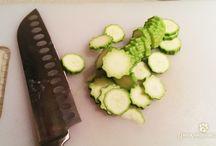 Salmone in crosta di zucchine