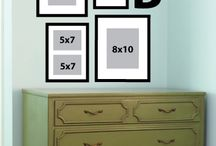 Decoration: Hang a Picture in a Frame / by Mama's Ditjes En Datjes