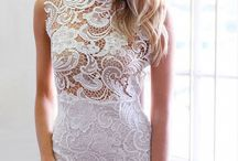 Lace / Dresses and outfits