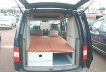 VW Caddy camper & amazing tunning