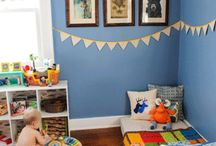 Toddler room.