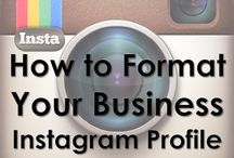 INSTAGRAM FOR BUSINESS /  Instagram is a hot social network - connect with colleagues, potential clients and customers sharing hobbies, interests and your business services. This board is all about how to leverage and build a tribe of loyal followers that supports your other marketing in a big way and leads to conversions.