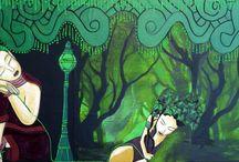 Peinture : Le lien ... / Nouvelle série :Photo : Kalian Lo Peinture : Anaksa Nort Modèle Valentina_Model_  Nouvelle série avec les photos de Kalian et le modèle Valentina. Le titre de la série : Le lien. Peinture hautement symbolique et spirituelle. Les autres peintures vous les découvrirez lors de notre exposition.