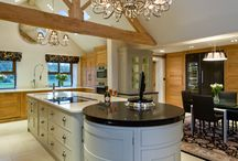 Our latest kitchen / A combination of both 'The Grantham' and 'Sutton Place,' kitchens, this stunning kitchen incorporates many features to create the perfect family room where you can cook, eat, relax and work