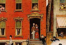 Vie en ville / Laideur ou beauté des cités d'hier ou d'aujourd'hui, par la photo, le dessin, la peinture, etc ...