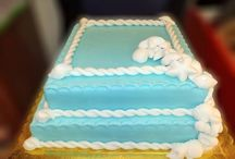 Lixoudis bakery Fira Santorini / Lixoudis bakery pastry shop in Fira Santorini. Wedding cakes, birthday cakes...