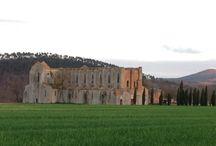 SAN GALGANO / Uno degli spettacoli tipici della Toscana.