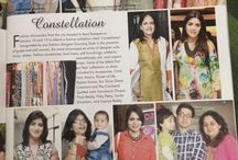 Constellations - an ode to modern lifestyle! / A lifestyle expo, featuring Designer Sarees by Rupam kumar,& products from the house of Flower of life!!
