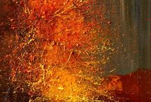 ART - Abstract / ART - Painting Abstract art mixed media