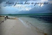 His words / because we are nothing without Him <3