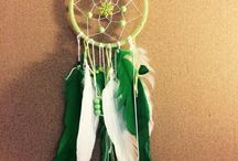 Homemade dreamcatcher