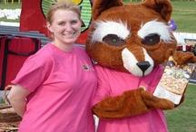 Frankie the Fox's Pizza Den Mascot!