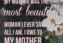 Motherhood Quotes / Quotes about being a mom and how a child loves their mother.