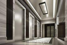 гостиница лифт ресепшн