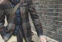 gentleman / man fashion