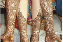 Beautiful Mehndi Design / don't really Mehndi at all, but for some reason i really liked this one.
