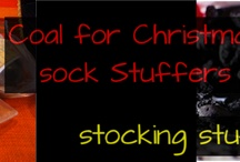 """Christmas stockings Stuffer / What better way to say I Love You, but you messed up! For folks celebrating Christmas this year here is a great idea. Mix things up by leaving a 'naughty' gift from Santa. If a few names still remain on your list to cross, our suggestion is to give them coal. (But not just any kind, we bring you 100% Organic African Black Soap) Step up to purely soft skin – """"African black soap benefits"""""""