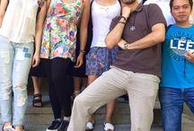 Español para extranjeros - grupo de Elena Chen - Julio 2015 / Fotos de Elena Chen en la actividad de visita y comida del grupo de español para extranjeros con la profesora Barbara en Julio de 2015.