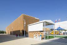 Padiglione Polonia - Expo 2015 / Realizzazione di pavimenti cementizi con Ultratop