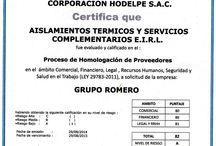 Certificados / Certificados Organizacionales